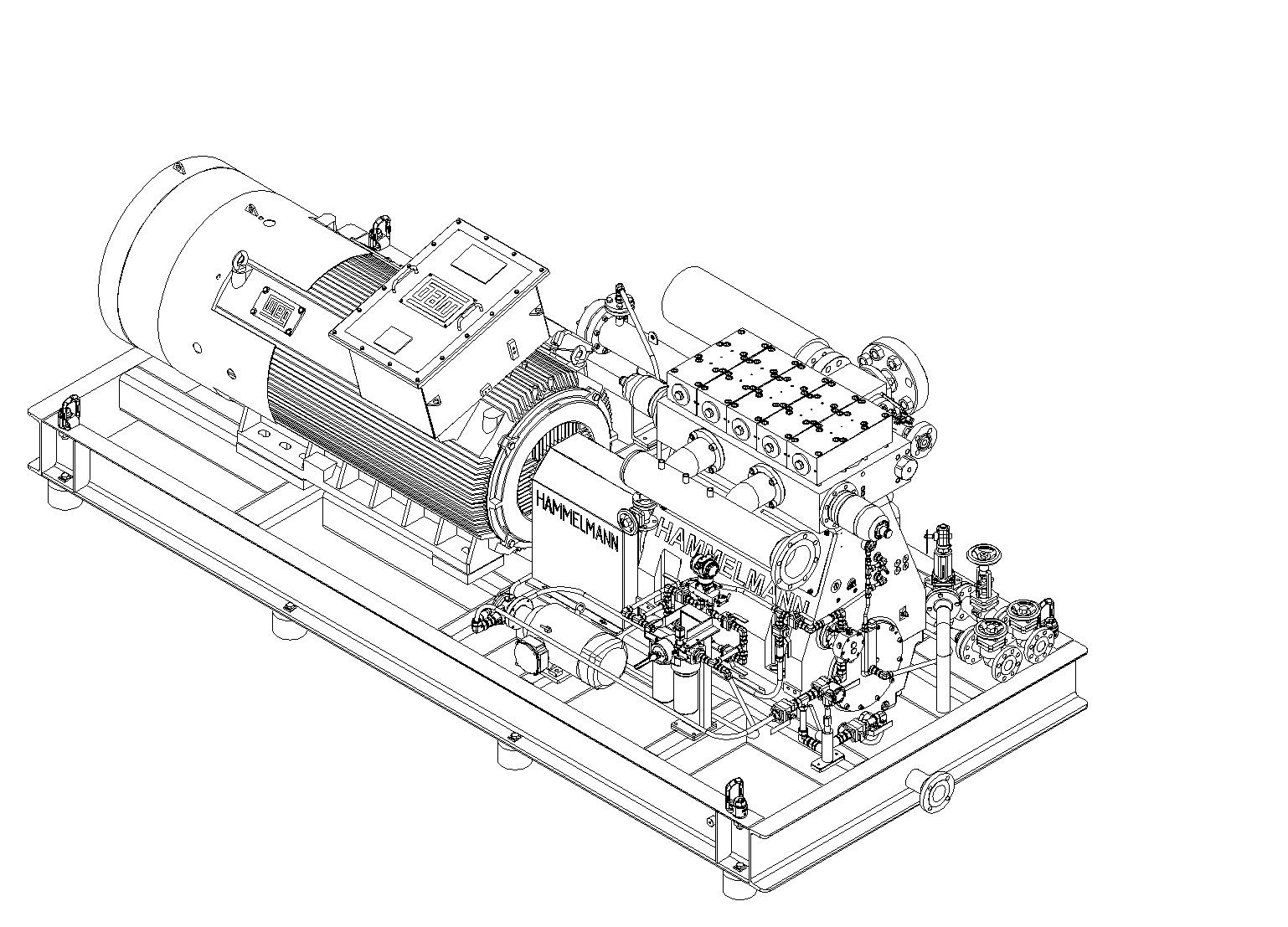 3D Zeichnung des HDP805